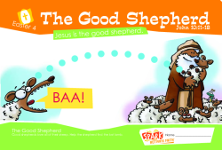 The Good Shepherd Age 2-3