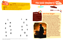 The Good Shepherd Grade 3-4