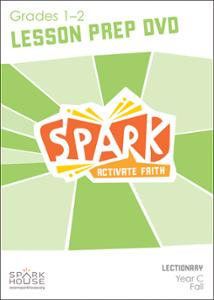Spark Lectionary / Fall 2016 / Grades 1-2 / Lesson Prep Video DVD