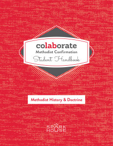 Colaborate: Methodist Confirmation Handbook: Methodist History and Doctrine