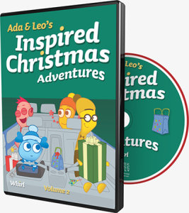 Ada and Leo's Inspired Christmas Adventures: Volume 2