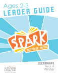 Spark Lectionary / Year A / Winter 2019-2020 / Age 2-3 / Leader Guide