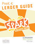 Spark Classroom / Year Green / Winter / PreK-K / Leader Guide