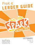 Spark Lectionary / Fall 2020 / PreK-K / Leader