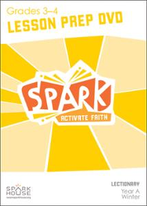 Spark Lectionary / Year A / Winter 2019-2020 / Grades 3-4 / Lesson Prep Video DVD