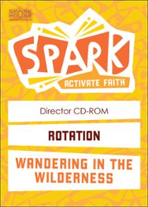 Spark Rotation / Wandering in the Wilderness / Director CD