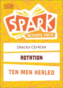 Spark Rotation / Ten Men Healed / Director CD