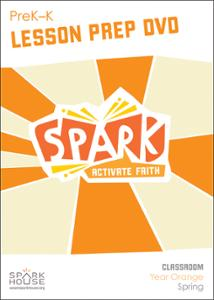 Spark Classroom / Year Orange / Spring / PreK-K / Lesson Prep Video DVD
