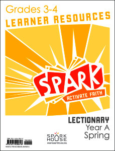 Spark Lectionary / Year A / Spring 2020 / Grades 3-4 / Learner Leaflets