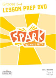 Spark Lectionary / Winter 2020-2021 / Grades 3-4 / Lesson Prep Video DVD