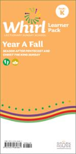 Whirl Lectionary / Year A / Fall 2020 / PreK-K / Learner Pack