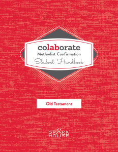 Colaborate: Methodist Confirmation / Student Handbook / Old Testament