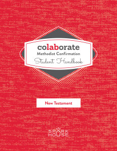 Colaborate: Methodist Confirmation / Student Handbook / New Testament