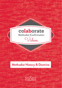 Colaborate: Methodist Confirmation / DVD / Methodist History and Doctrine