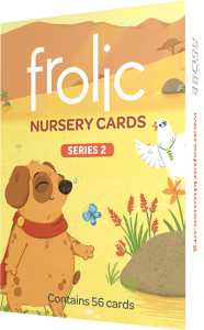 Frolic Nursery Cards Series 2: 56 Cards per deck
