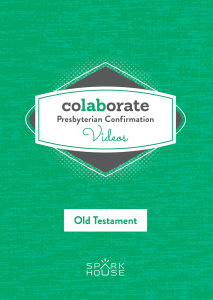 Colaborate: Presbyterian Confirmation / DVD / Old Testament