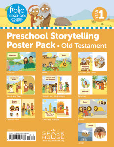 Frolic Preschool / Old Testament / Year 1 / Ages 3-5 / Storytelling Posters