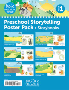 Frolic Preschool / Storybooks / Year 1 / Ages 3-5 / Storytelling Posters