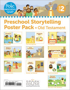 Frolic Preschool / Old Testament / Year 2 / Ages 3-5 / Storytelling Posters