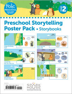 Frolic Preschool / Storybooks / Year 2 / Ages 3-5 / Storytelling Posters