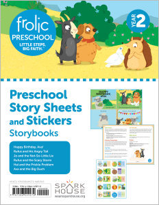 Frolic Preschool / Storybooks / Year 2 / Ages 3-5 / Story Sheets and Stickers