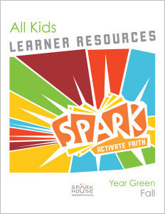 Spark All Kids / Year Green / Fall / Grades K-5 / Learner Pack