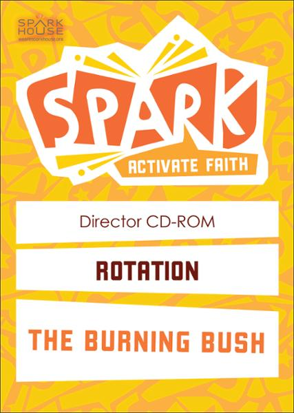 Spark Rotation / The Burning Bush / Director CD