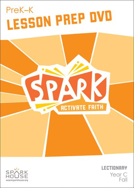 Spark Lectionary / Year C / Fall 2019 / PreK-K / Lesson Prep Video DVD