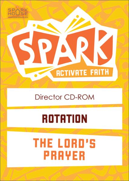 Spark Rotation / The Lord's Prayer / Director CD