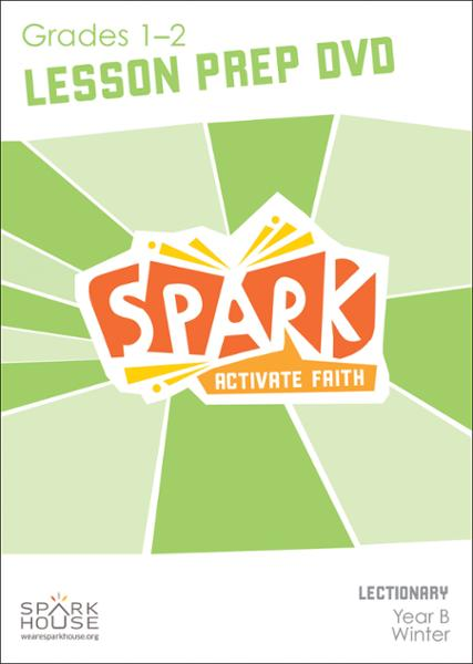 Spark Lectionary / Winter 2020-2021 / Grades 1-2 / Lesson Prep Video DVD