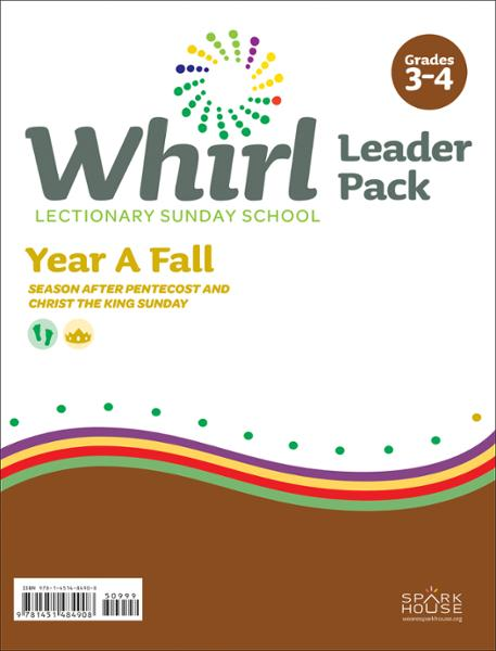 Whirl Lectionary / Year A / Fall 2020 / Grades 3-4 /Leader Pack