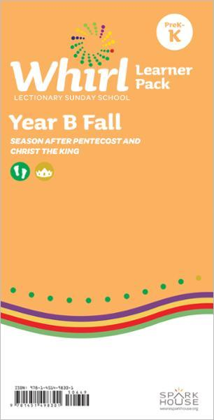 Whirl Lectionary / Year B / Fall 2021 / PreK-K / Learner Pack