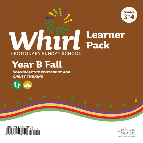 Whirl Lectionary / Year B / Fall 2021 / Grades 3-4 / Learner Pack