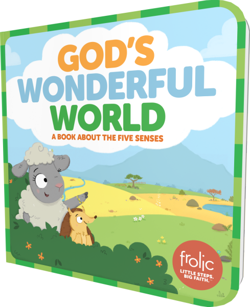 God's Wonderful World: A Book about the Five Senses
