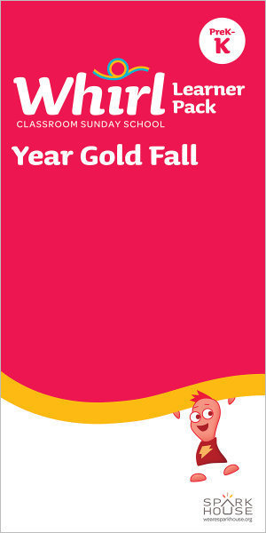 Whirl Classroom / Year Gold / Fall / PreK-K / Learner Pack