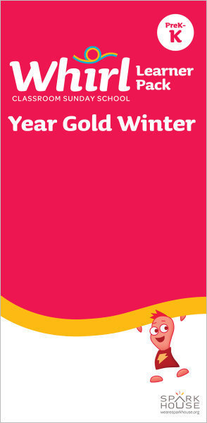 Whirl Classroom / Year Gold / Winter / PreK-K / Learner Pack
