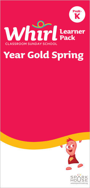 Whirl Classroom / Year Gold / Spring / PreK-K / Learner Pack
