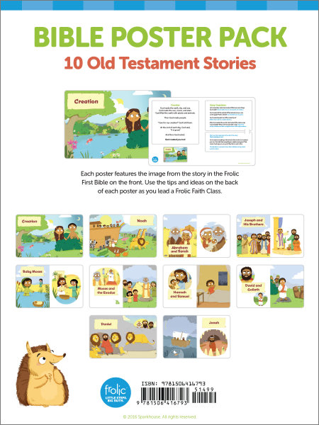 Frolic Family / Bible Story Posters / Old Testament