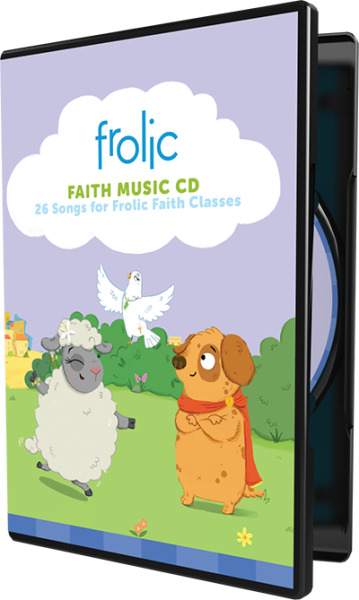 Frolic Family Faith Music CD