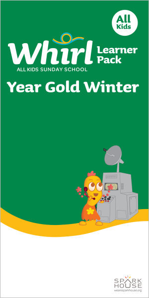 Whirl All Kids / Year Gold / Winter / Grades K-5 / Learner Pack