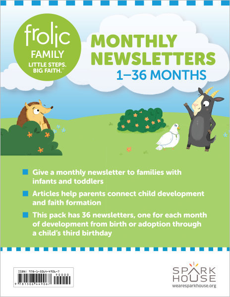 Frolic Family / Birth - Age 3 / Monthly Newsletters