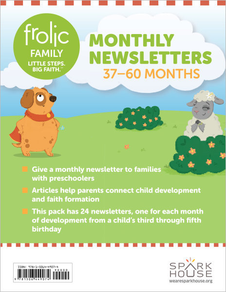 Frolic Family / Ages 3-5 / Monthly Newsletters