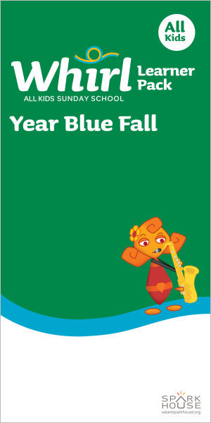 Whirl All Kids / Year Blue / Fall / Grades K-5 / Learner Pack