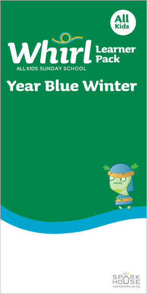 Whirl All Kids / Year Blue / Winter / Grades K-5 / Learner Pack