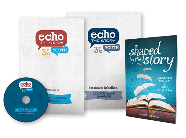 Echo the Story sampler products