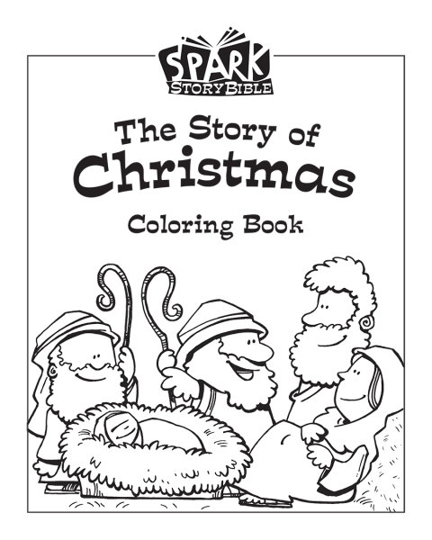 Christmas Jesus Birth Drawing.Spark Classroom Christmas Ages 2 Grade 2 Coloring Book