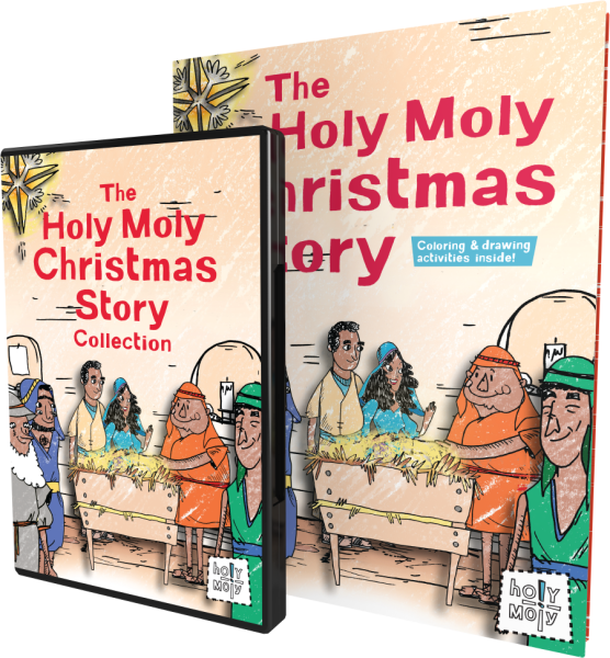 Holy Moly / Grades K-4 / Christmas Bundle for Families