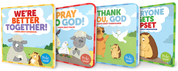 Frolic / Let Us Pray / Book Bundle
